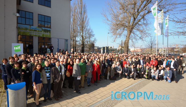 iCROPM2016 participants from 47 countries