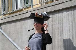 Helene Rieckh, Ph.D. student at the Institute of Soil Landscape Research , finished her Ph.D. thesis