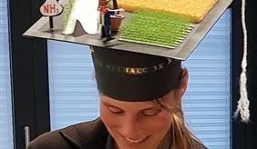 Anna Michalczyk after her promotion defense
