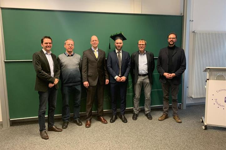 Martin Schmidt successfully promoted to PhD | Source: © Martin Schmidt.