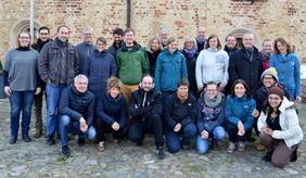 Das GRK BioMove beim Treffen 2016 in Bad Belzig