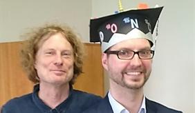 Kai Nitzsche zusammen mit Prof. Arthur Gessler