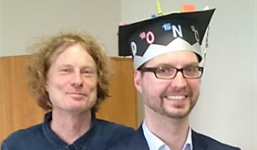 Kai Nitzsche together with Prof. Arthur Gessler