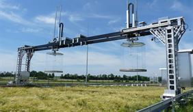 Portal crane of ZALF