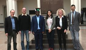 PhD successfully completed by Festo Richard Silungwe