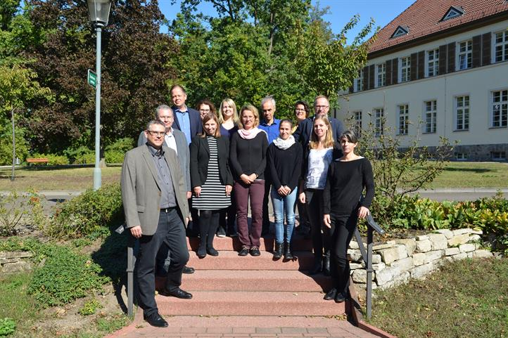 Group photo at the kick-off meeting of the ReGerecht project| source: © Julia Lidauer.