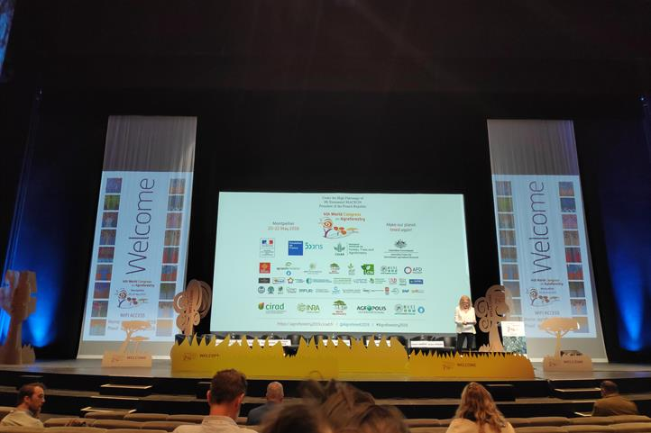 4th World Congress on Agroforestry 2019 at Montpellier, France | Source: © Johannes Hafner.