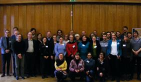 """Participants of the workshop """"Rethinking the governance of European Water protection"""" at UFZ Leipzig in January 2019"""