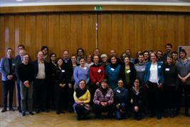 "Participants of the workshop ""Rethinking the governance of European Water protection"" at UFZ Leipzig in January 2019"