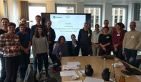 Teilnehmer des BonaRes Workshops