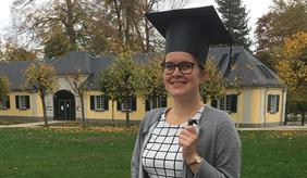 Dr. Meike Weltin (ZALF) completed her PhD at Bonn University.