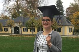 Dr. Meike Weltin (ZALF) completed her PhD at Bonn University.