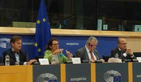 ZALF researchers as Experts at the European Parliament