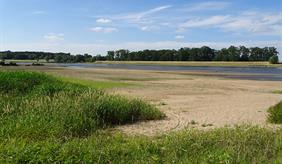 River Elbe (Germany) in June 2018