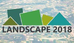 Landscape Logo Bühnenbild
