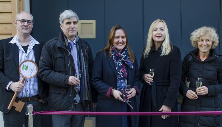 Eröffnung Haus der Kulturbiomforschung