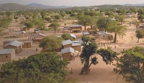 Ein Dorf in Tansania