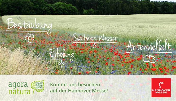Agora Natura auf der Hannover Messe