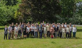 Participants of the field day for the kick-off of the EU project Contracts2.0