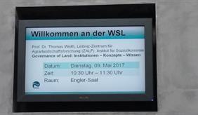 Besuch an der WSL