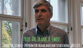 Prof. Ewert im Videointerview zur COP23 & Landwirtschaft
