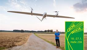 ZALF Drohne TRON mit Pilot